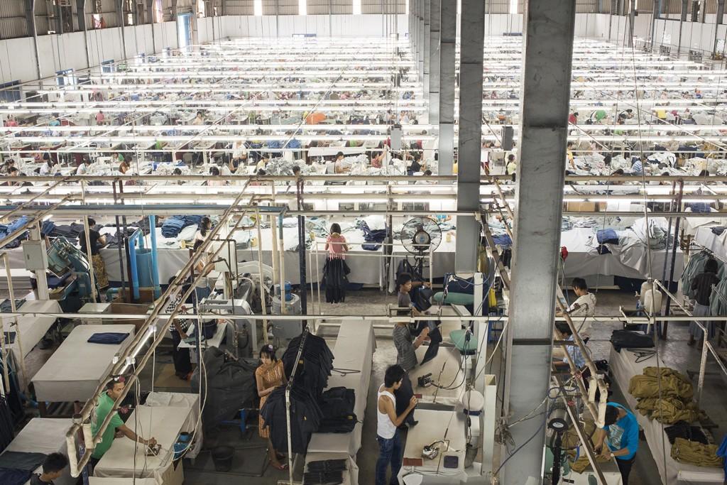 Burma Apparel Factory