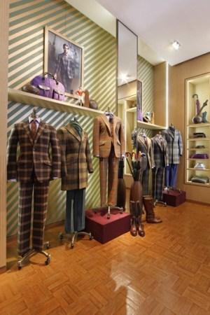 A Paul Stuart shop.