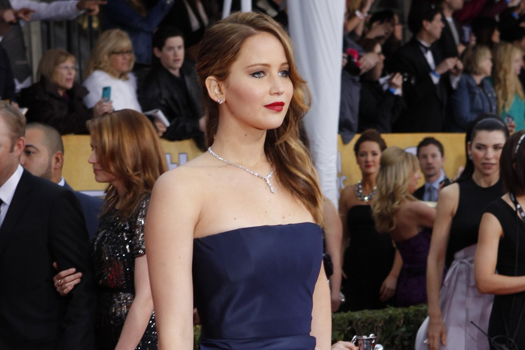 Jennifer Lawrence in Dior Haute Couture and Chopard
