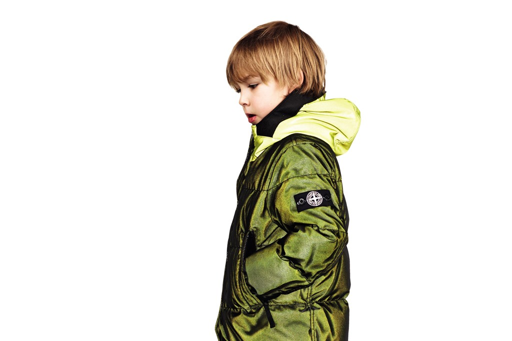 A look from Stone Island Junior.