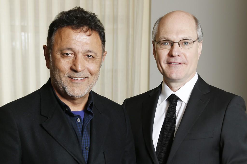 Elie Tahari and Bob Galvin