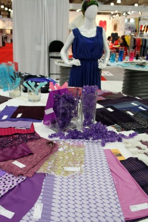 The trend area at Texworld USA.