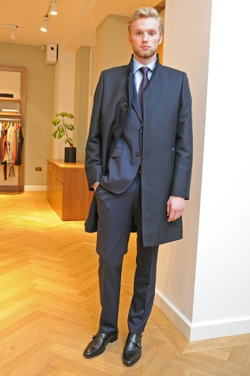 Tommy Hilfiger Tailored Men's RTW Fall 2013
