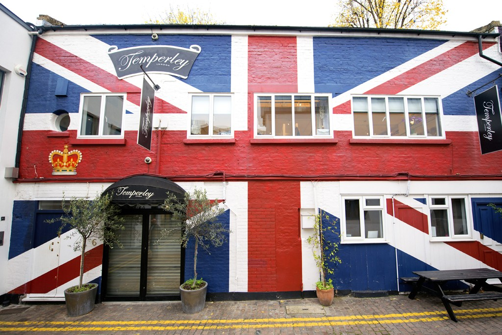 Alice Temperley's store in London.