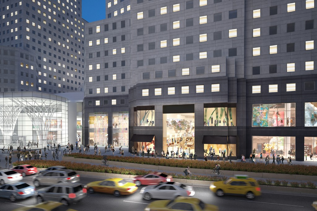 A rendering of Brookfield Place.