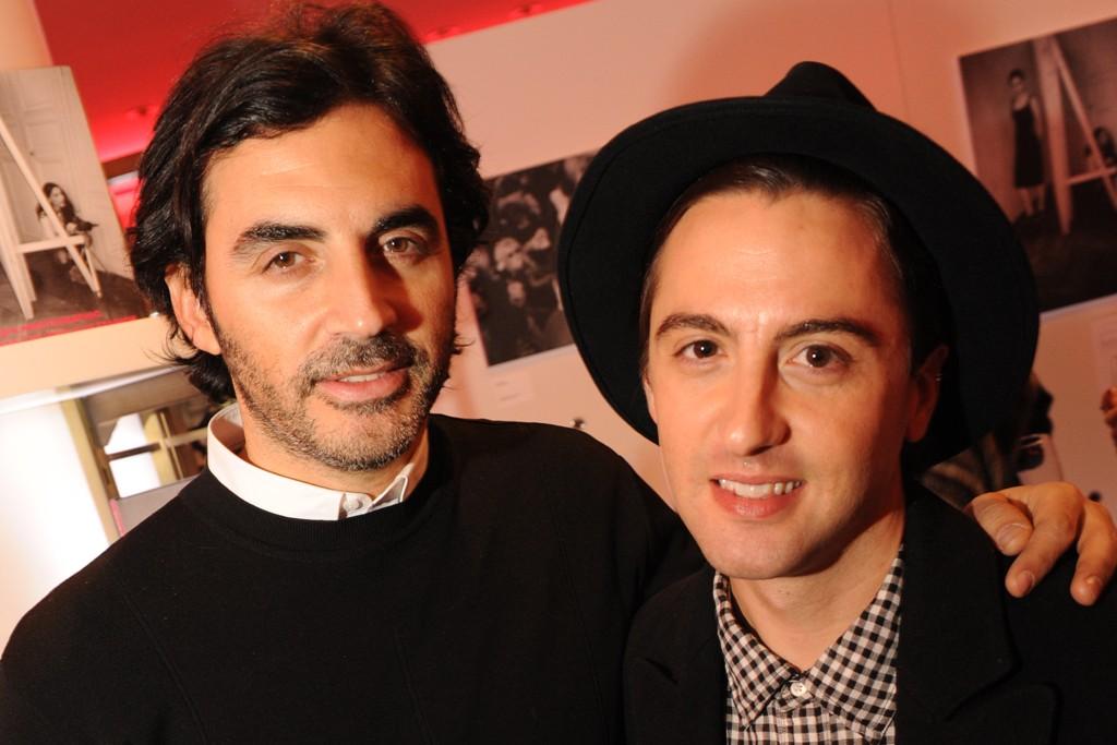 Yigal Azrouël and Eddie Borgo