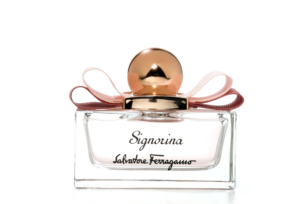 Salvatore Ferragamo Signorina launched last year.