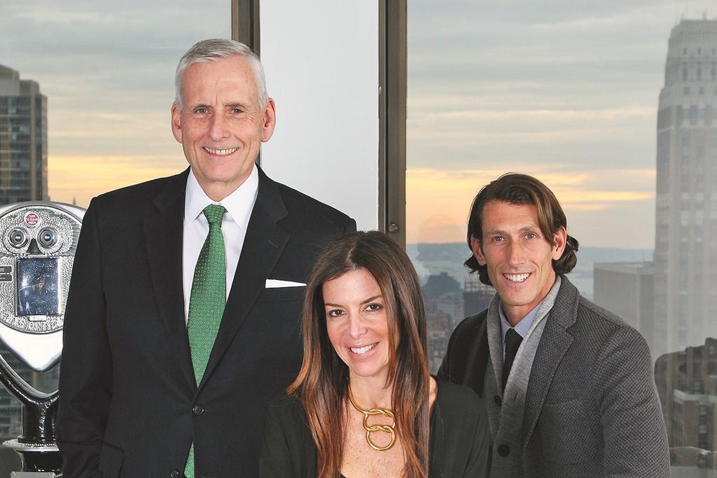 Wesley Card, Stefani Greenfield and Richard Dickson.