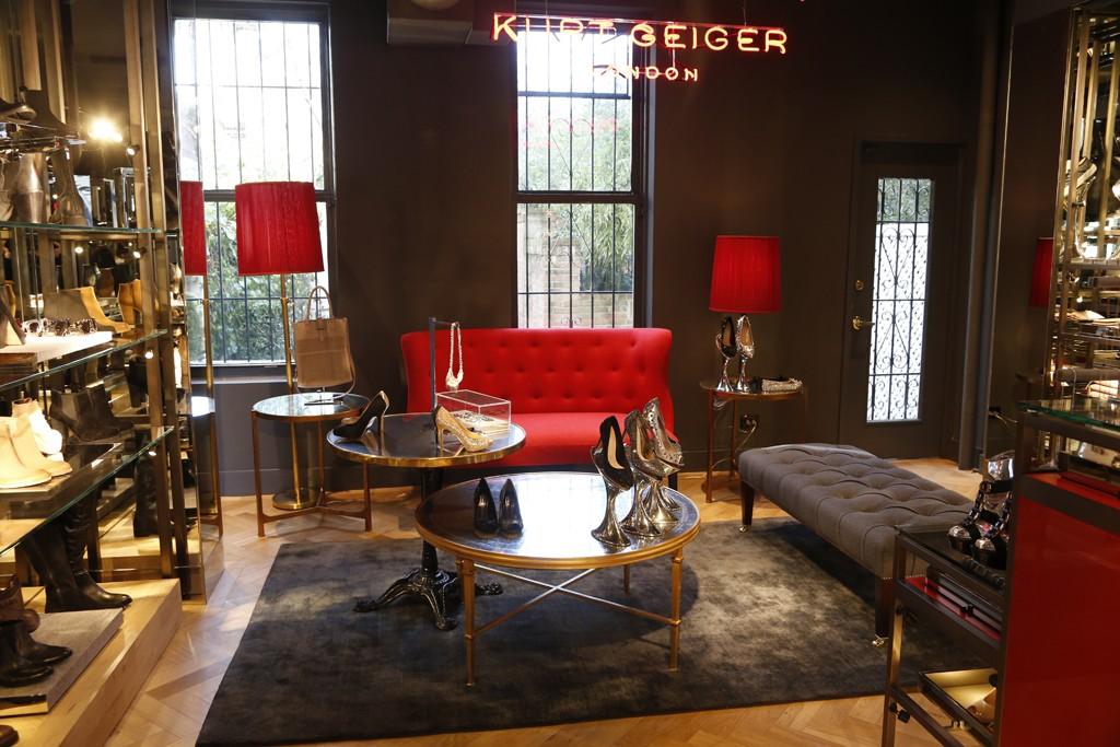 The Kurt Geiger store on Bleecker Street in New York City.