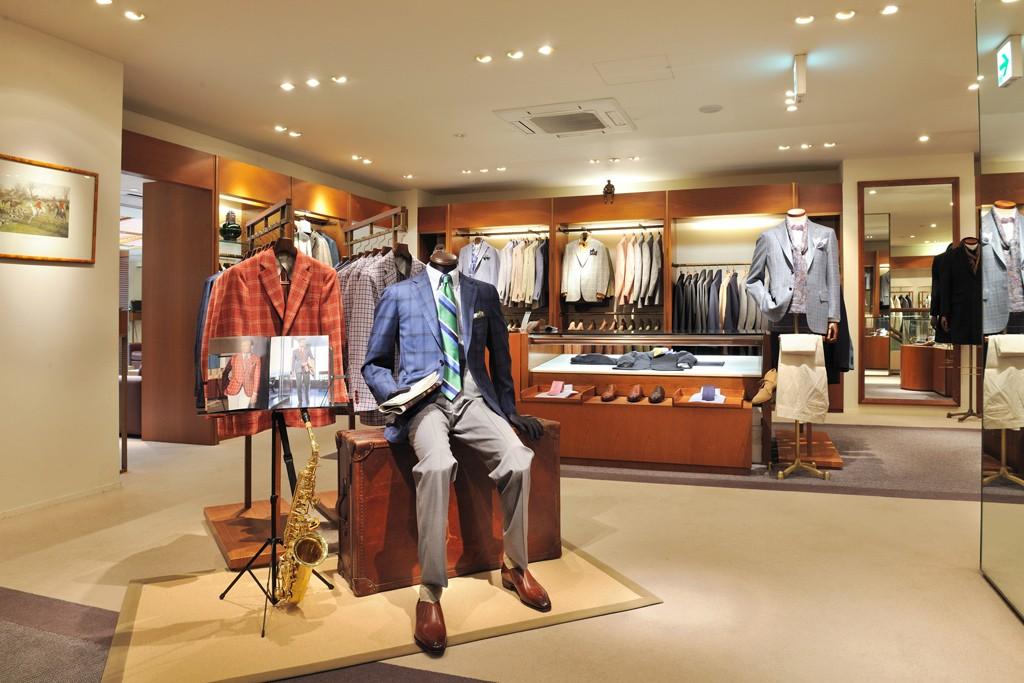 Paul Stuart store on Omotesando in Tokyo.
