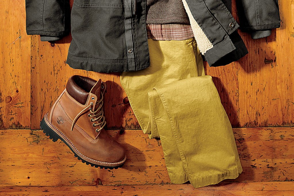 A look from the fall Timberland line.