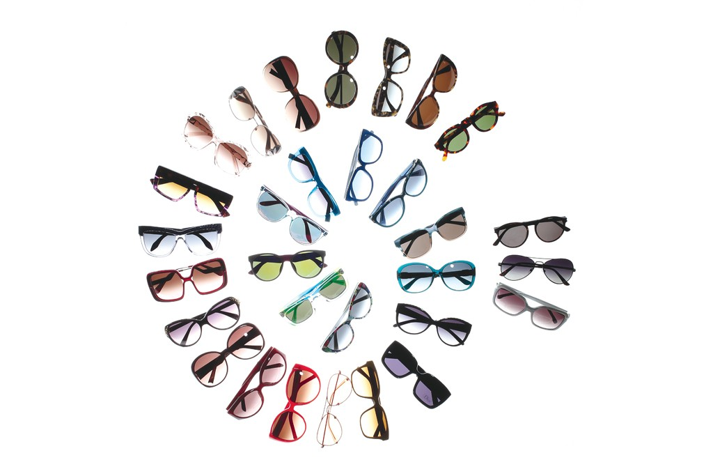 A preview of sunglasses showing at Vision Expo.
