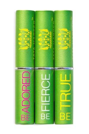 Tata Harper's lip treatment products.