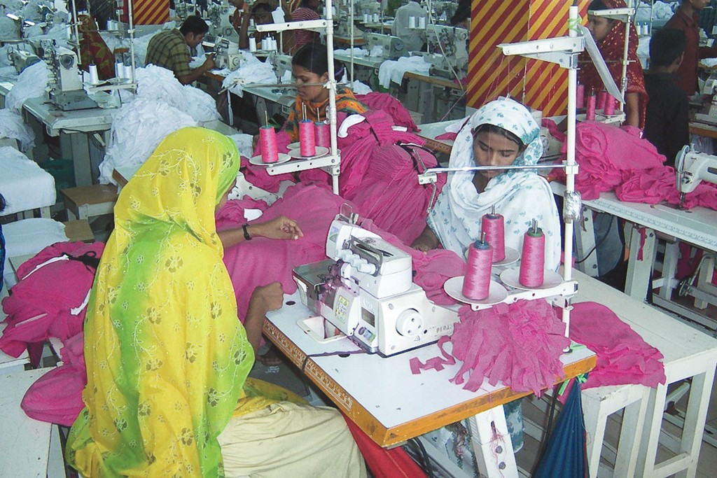 Sourcing in Bangladesh.