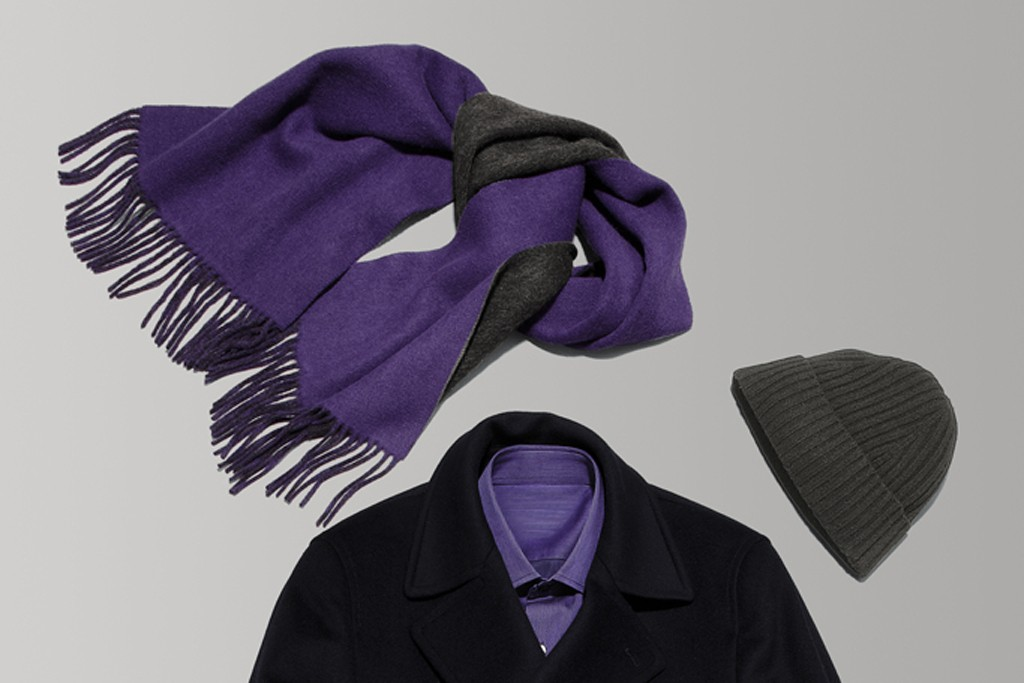 A jacket and shirt, plus accessories, from the Black subbrand.