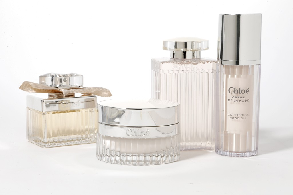 The Chloé skin-care range.