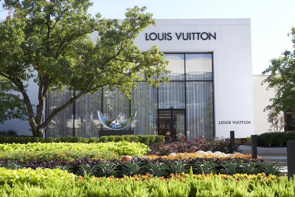 The Louis Vuitton store at the NorthPark Center in Dallas.