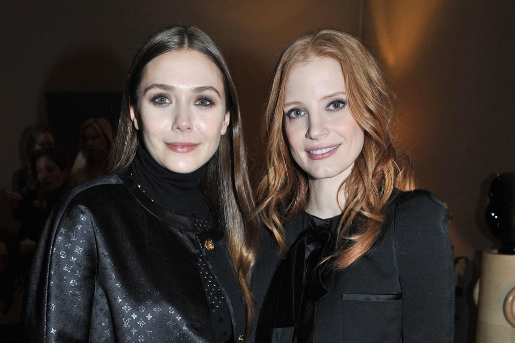 Elizabeth Olsen and Jessica Chastain