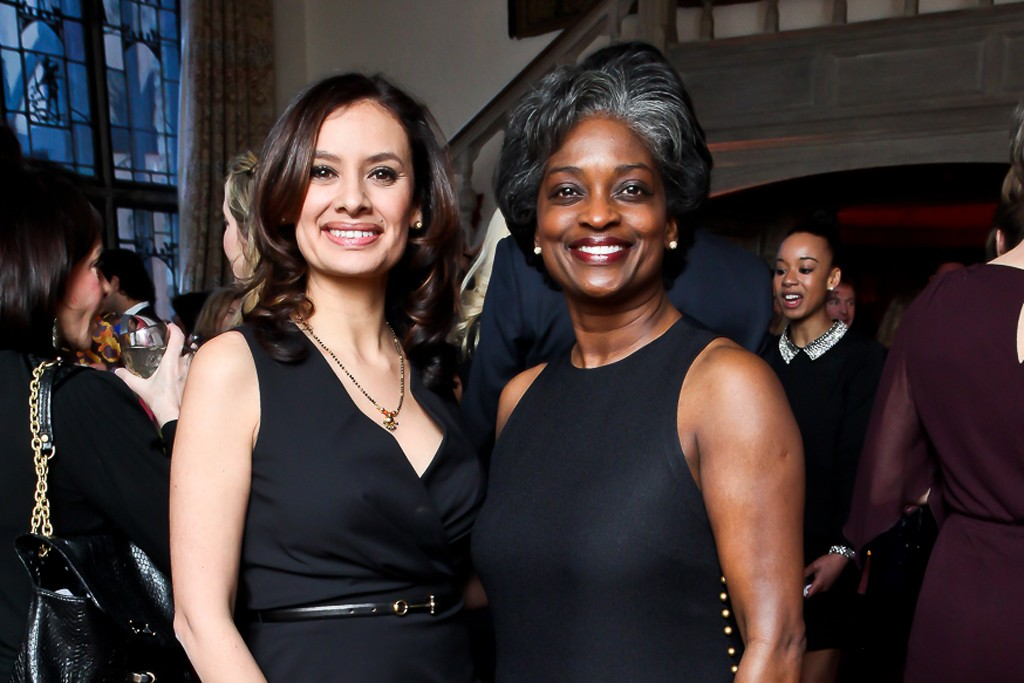Maria Teresa Kumar and Mignon L. Clyburn