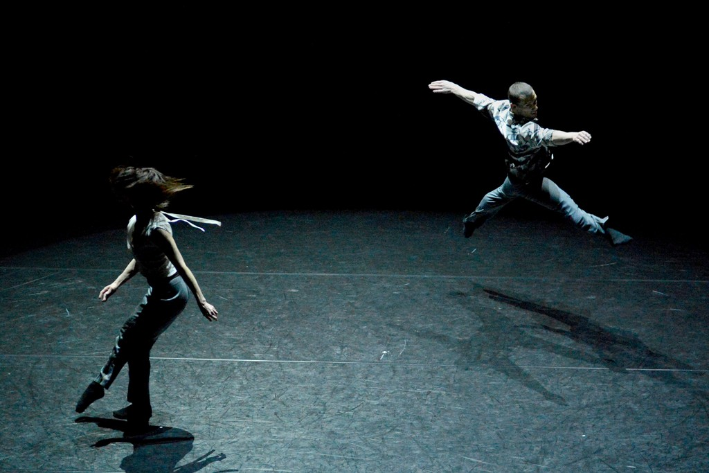"""Sandra Savin and David Drouard performing """"Time in Motion."""""""