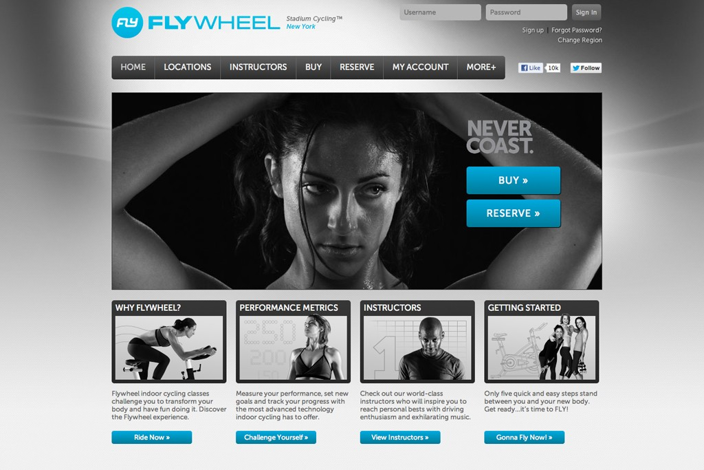 Flywheel is launching e-commerce in May.