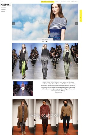 The Missoni Web site.
