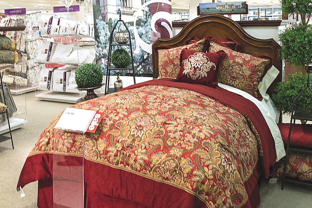The Biltmore private label collection at Belk is inspired by Biltmore House in Asheville, N.C.