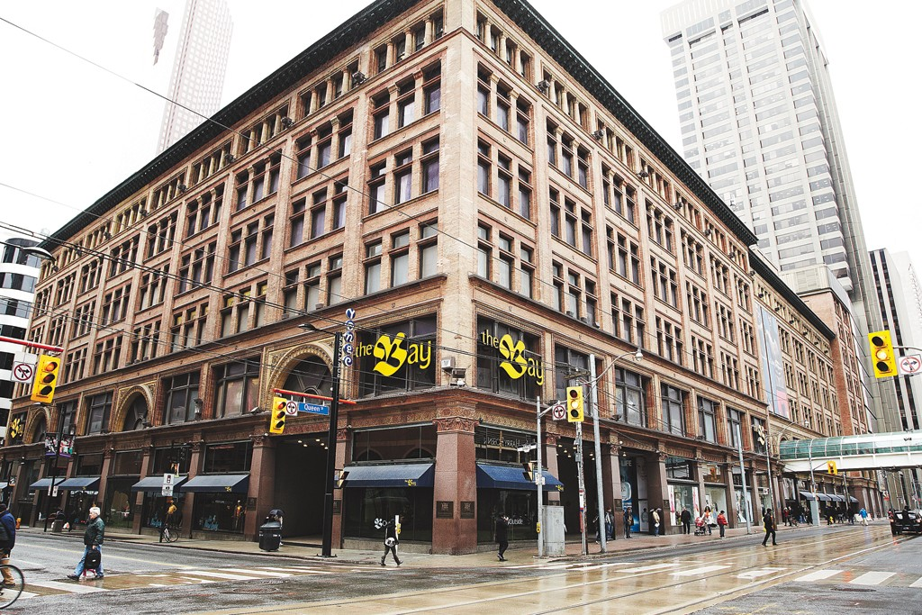 The Hudson's Bay flagship in Toronto.