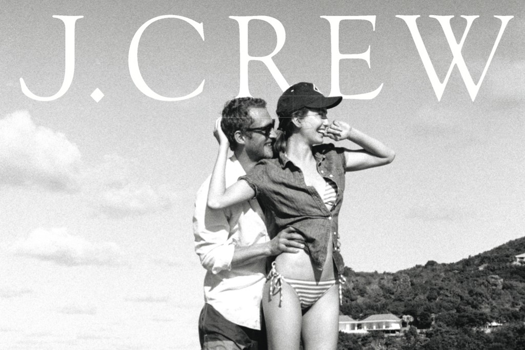 The cover of the J. Crew April catalogue.
