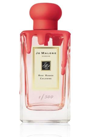Charlotte Stockdale's neon hand-dipped fragrance bottle for Jo Malone.
