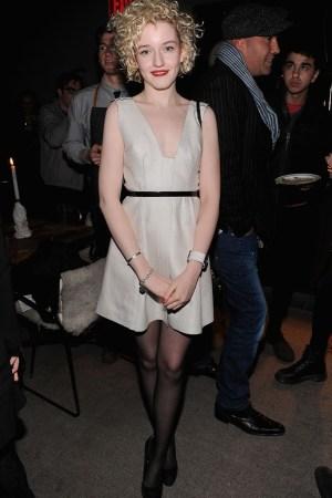 Julia Garner in Calvin Klein Collection.