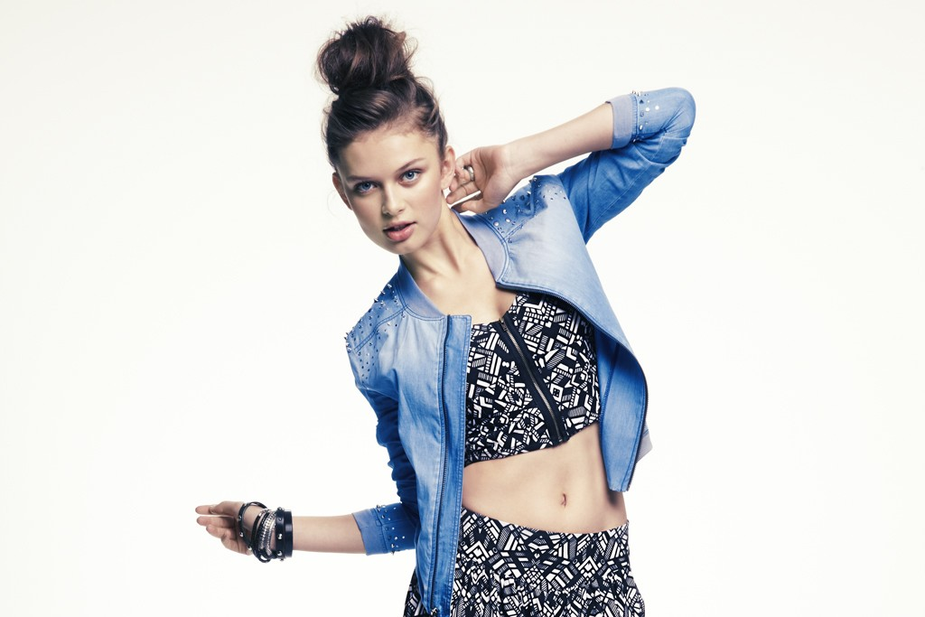 A look from Teen Vogue's collection for Macy's Mstylelab.
