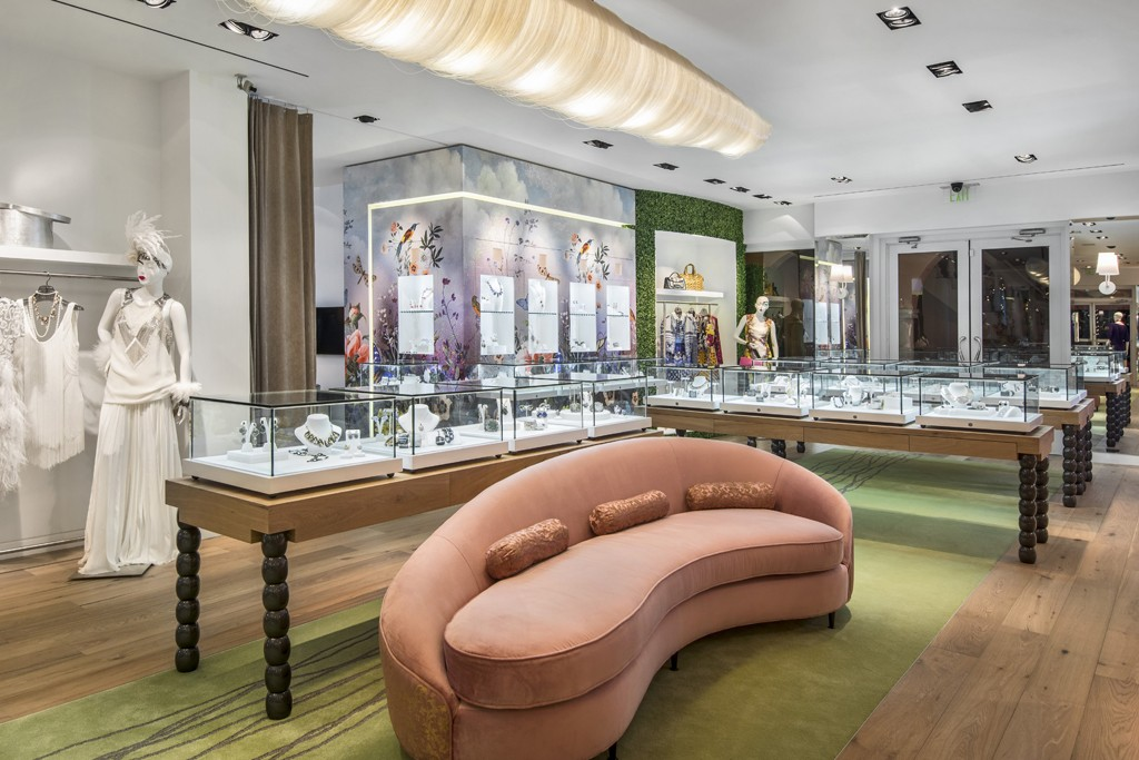 A view of the Marissa Collections boutique.