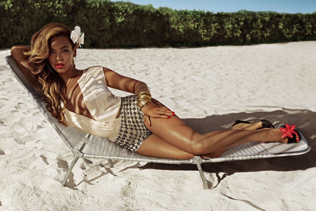 A visual for H&M's summer campaign featuring Beyoncé.