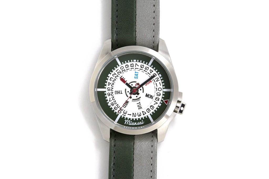 A Miansai timepiece.