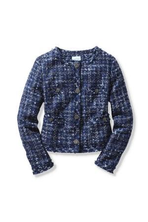 Old Navy's tweed jacket