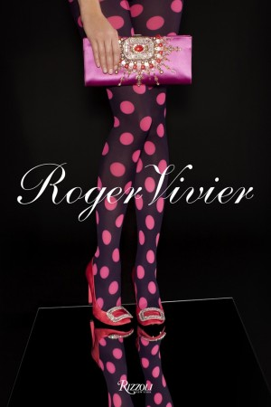 The cover of the Roger Vivier book