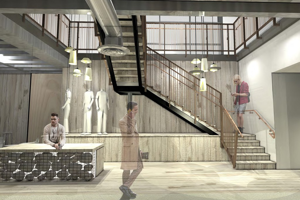 A rendering of the D-BAR.
