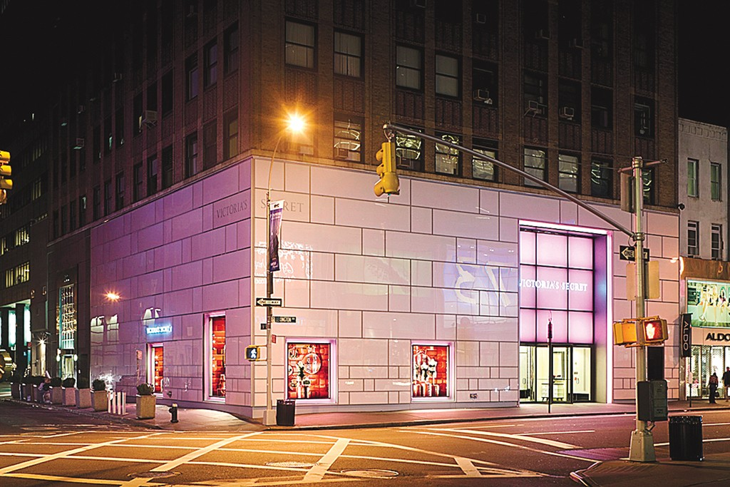 Exterior of a Victoria's Secret store in New York