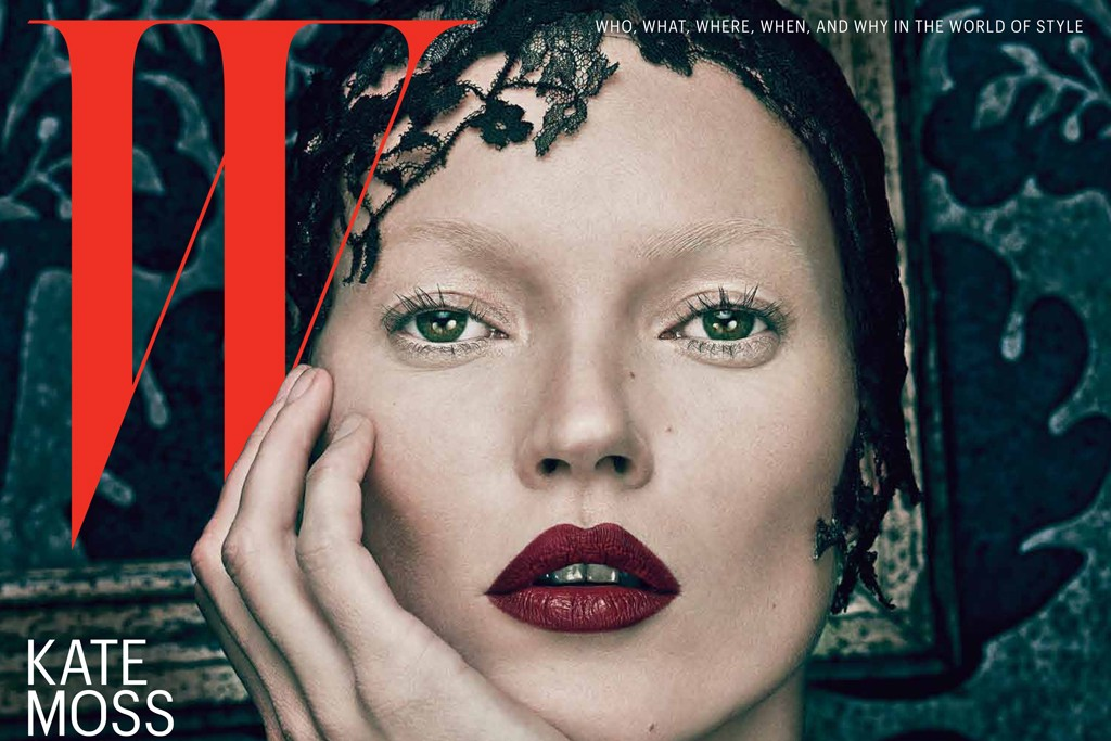W magazine Spring 2012 cover, nominated for best overall design.