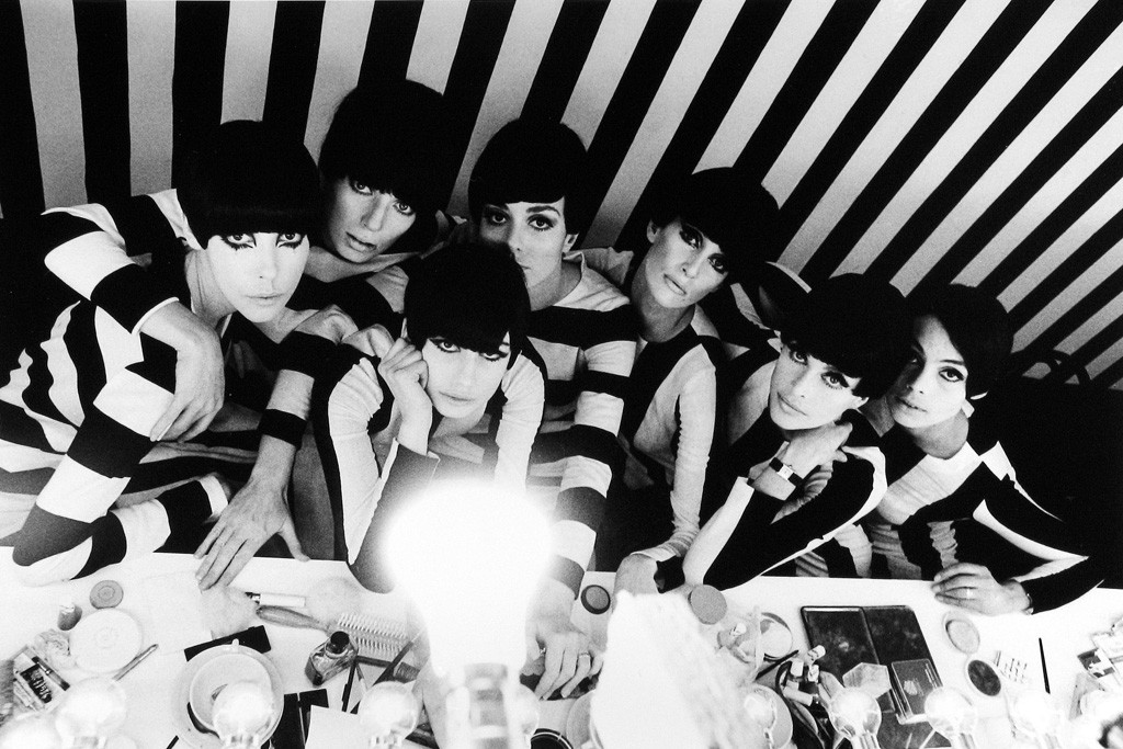 "Models Backstage, Film ""Who Are you Polly Maggoo?"" 1966"