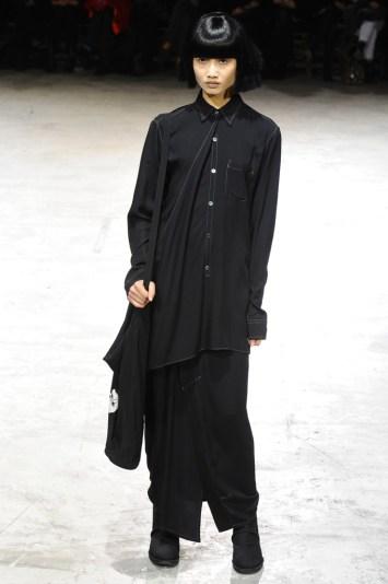 Yohji Yamamoto RTW Fall 2013