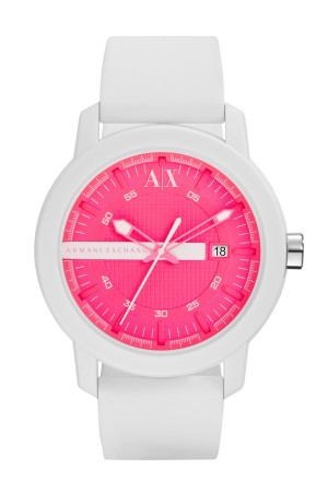 A watch from the A X Armani Exchange Color Flash collection.