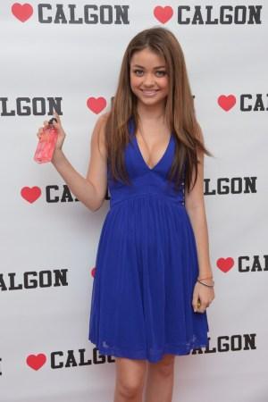Sarah Hyland for Calgon.