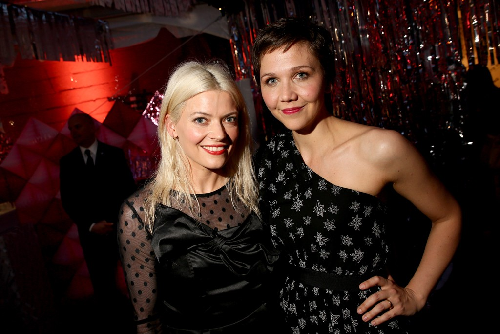 Kate Young and Maggie Gyllenhaal, both in Kate Young for Target.