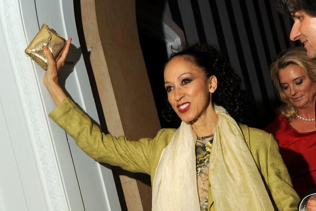 Pat Cleveland in vintage Stephen Burrows.
