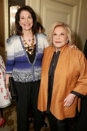 Sherry Lansing and Wallis Annenberg
