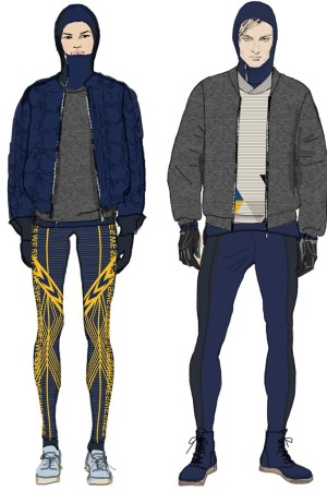 H&M designs for Sweden's Olympic athletes