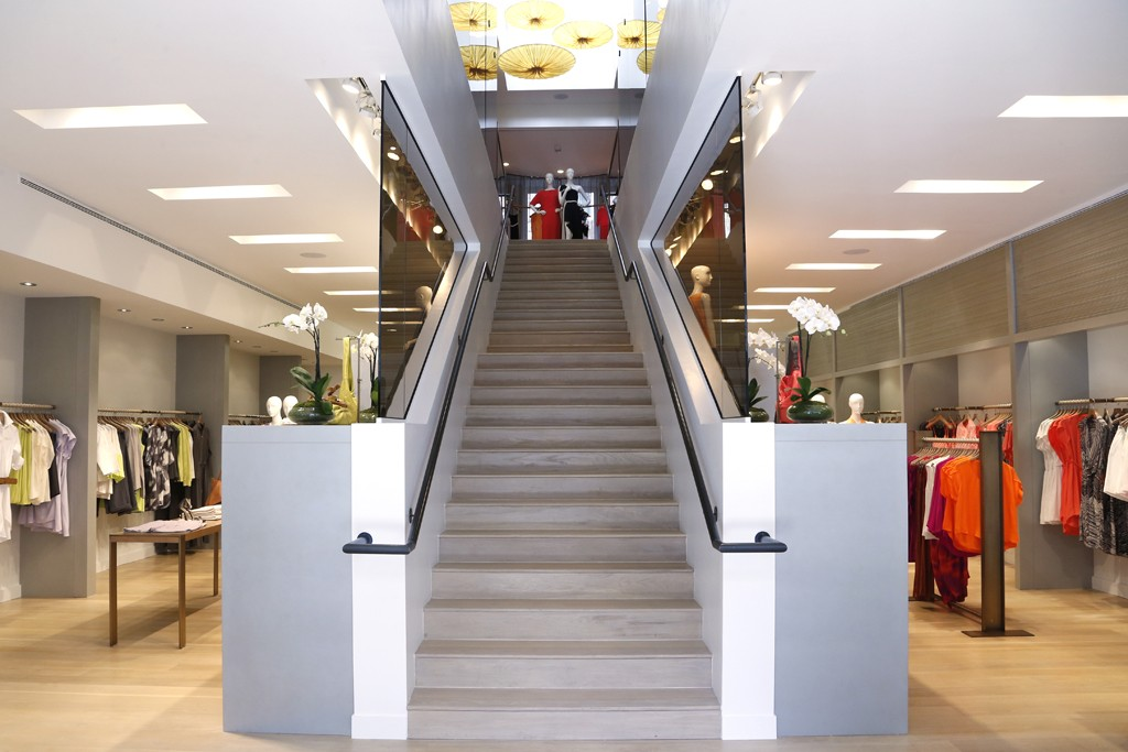 A view of the Halston Heritage store.