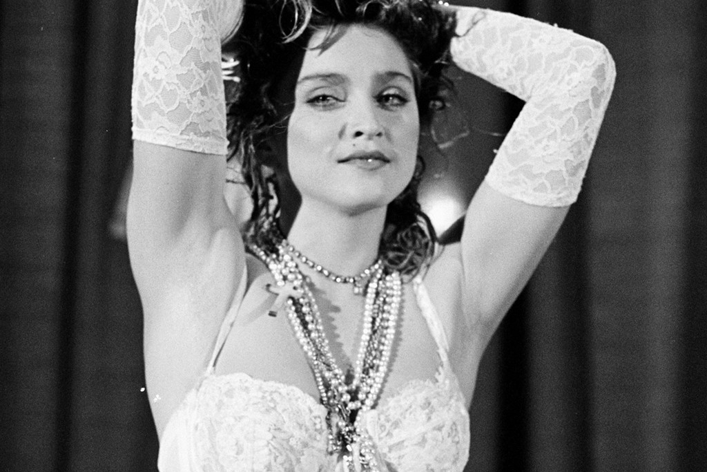 Madonna at the 1984 MTV Video Music Awards.
